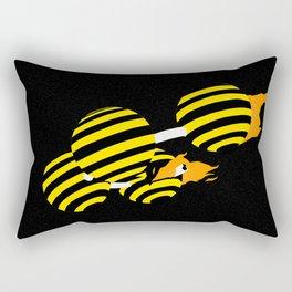 Gamera vs. Viras Rectangular Pillow