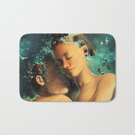 Be castaway into your arms Bath Mat
