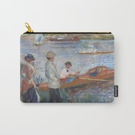 Auguste Renoir Oarsmen at Chatou 1879 Painting Carry-All Pouch