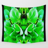 grumpy Wall Tapestries featuring Grumpy Fauna by Pepita Selles