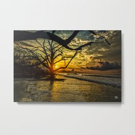 Daybreak at Botany Bay Metal Print