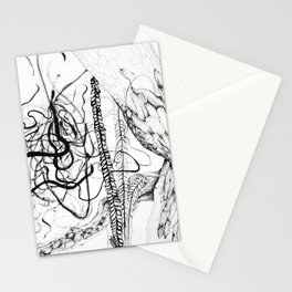 Abstract tree Stationery Cards