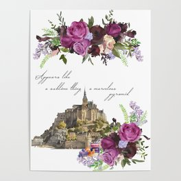 Mont Saint Michel, France Poster