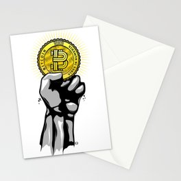 BITCOIN — VIRES IN NUMERIS Stationery Cards