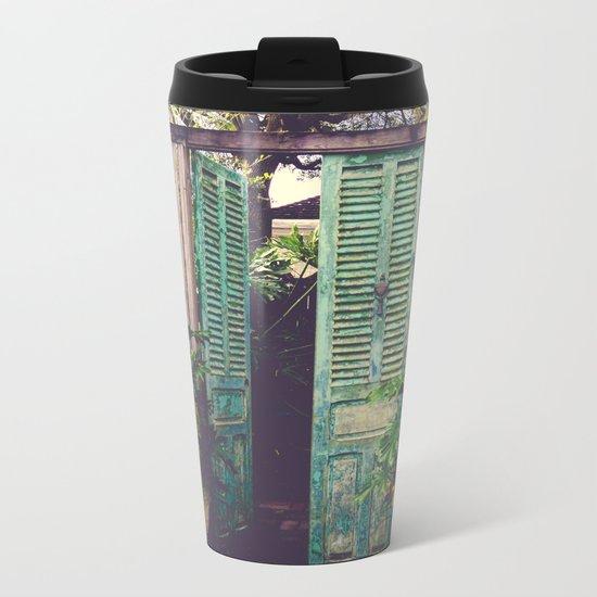 Saint Augustine Garden Metal Travel Mug