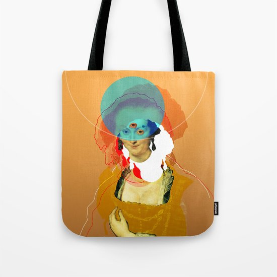Peter Paul Rubens Pop Portrait Tote Bag