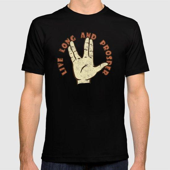 LIVE LONG AND PROSPER! - Star Trek T-shirt