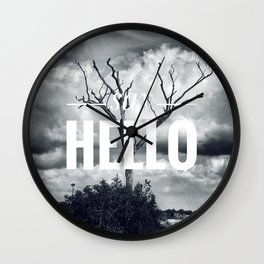 Motus Operandi Collection: Say hello Wall Clock