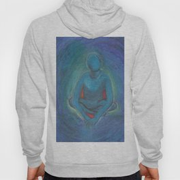Blue Man Hoody