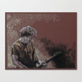 Deaner in the Fog Canvas Print