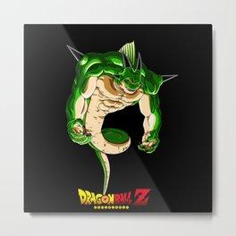 Shenron Evolution Dragonball Metal Print