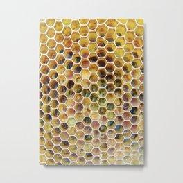 Pollen Packed Cells Metal Print