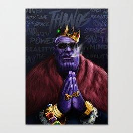 Thanos - Infinite Succes Canvas Print