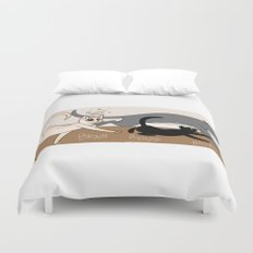 Furred Frenzy - Cat Rampage Duvet Cover
