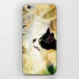 Gypsy Da Fleuky Cat and the Kitty Whisker Wishes iPhone Skin