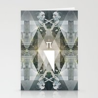 pi Stationery Cards featuring pi by Anna Pietrzak