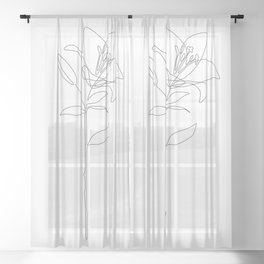 Fill Lily Sheer Curtain