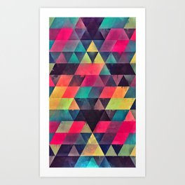 fyx th'pryss Art Print