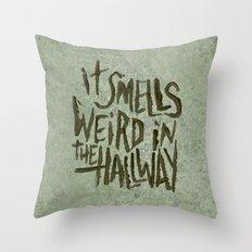 APARTMENT HALLWAY Throw Pillow
