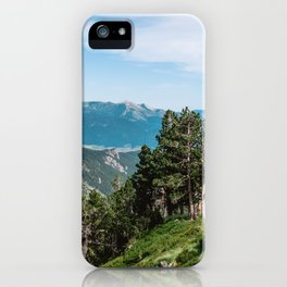 Treeline in the French Pyrénées iPhone Case