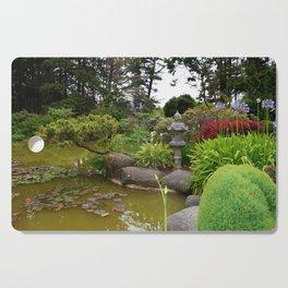Japanese Garden Lantern Cutting Board