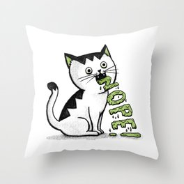 Insides Outside Throw Pillow