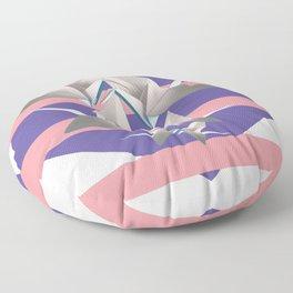 Papier Kraniche Floor Pillow
