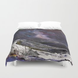 Northern Mountain Duvet Cover