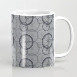 Bicycle 06 Tire Pattern Mono Graphic Coffee Mug
