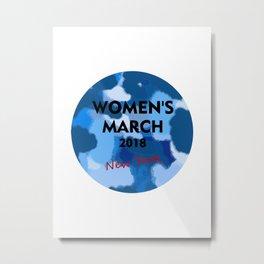 WOMEN'S MARCH 2018 Metal Print