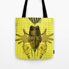Collage monster Tote Bag