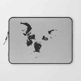 The Cute Pit Bull I Laptop Sleeve