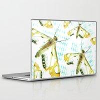 moth Laptop & iPad Skins featuring Moth by John Medbury (LAZY J Studios)