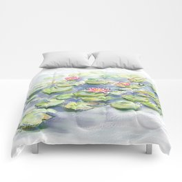 waterlillies Comforters