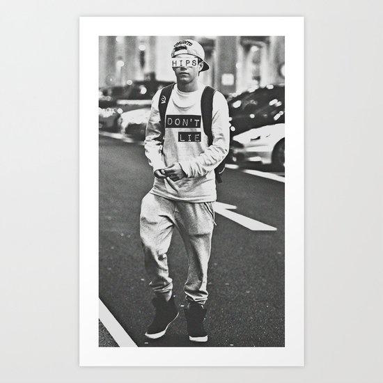 Niall Horan; Better Than Words Art Print