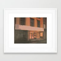 sports Framed Art Prints featuring Sports Direct by Janet Wareing
