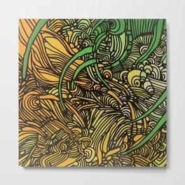 POOR RICHARD'S LAST PROVERB Metal Print