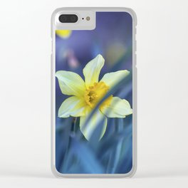 Yellow Daffodils - Narcissus Clear iPhone Case