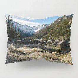 Mills Lake Morning Pillow Sham