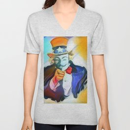 The Art Want You Unisex V-Neck
