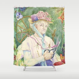 The Faery Godmother Shower Curtain