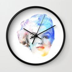 The Blond Bombshell Wall Clock