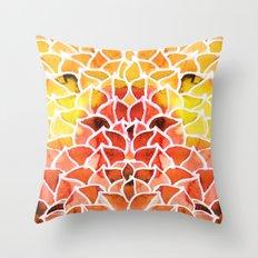 Leaves / Nr. 8 Throw Pillow