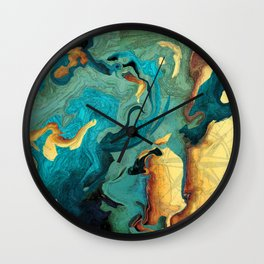 Archipelago Wall Clock