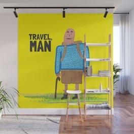 Travel, Man Wall Mural