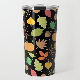 Thanksgiving pattern Travel Mug