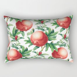 Pomegranate pattern II Rectangular Pillow