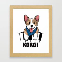 Korgi Framed Art Print