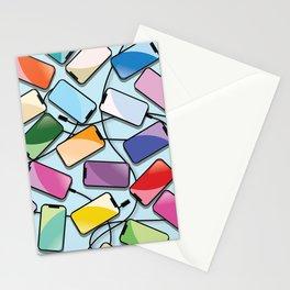 Notch Smartphones Stationery Cards