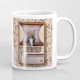 DW-007 Day Lilies With Nautilus Coffee Mug